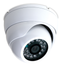 High Resolution Outdoor Turret Dome Camera