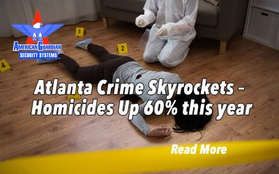 Atlanta Crime Skyrockets – Homicides Up 60% this year