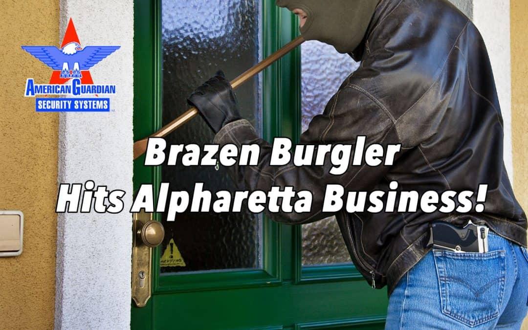 Brazen Burglar Steals Thousands Of Dollars From Alpharetta Business
