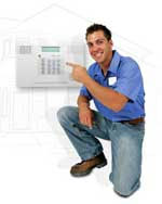 Professional ADT Certified Home Security System Installation